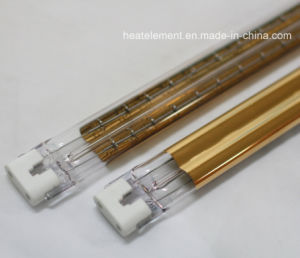 Heraeus Gold Twin Tube Short Wave Halogen Infrared Heating Lamps pictures & photos