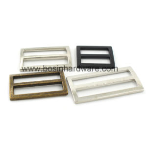 50mm Metal Tri-Glide Slider Buckle pictures & photos