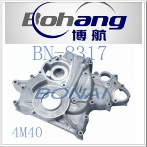 Bonai Professional Manufacture of Engine Spare Part Mitsubishi 4m40 Timing  Cover Bn-8317