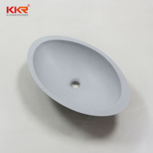 Countertop Acrylic Solid Surface Round Wash Basin pictures & photos