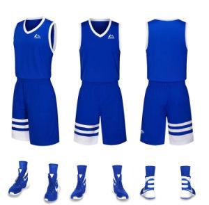 5e04cc2e2bf China Custom Red White Blue Color Basketball Jersey - China ...