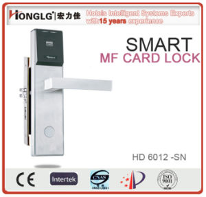 Digital Lock Key Card Door Lock for Hotel (HD6012) pictures & photos