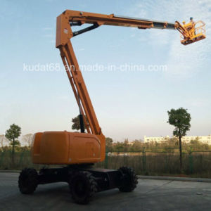 38m Self-Propelled Articulated Boom Lift Diesel Boom Lift pictures & photos