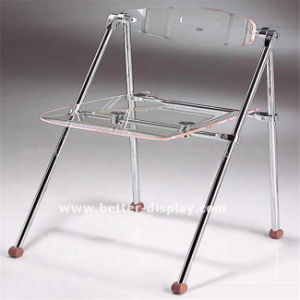 Clear Acrylic Plastic Folding Chair