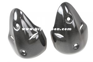 Carbon Fiber Silencer Guard for Ducati Monster 696 / 1100 pictures & photos