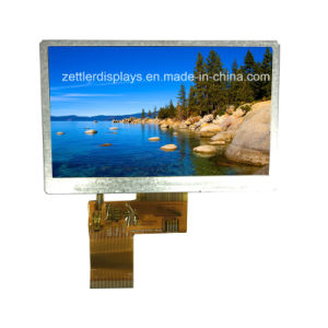 "4.3"" TFT with RGB, Resolution 480X272 Low Cost TFT Display: ATM0430d25"