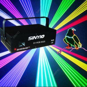 China Editable SD Card Ilda 2W RGB Full Color Animation Laser Light