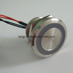22mm Stainless Steel 316L Blue Ring Illum. Piezo Switch pictures & photos