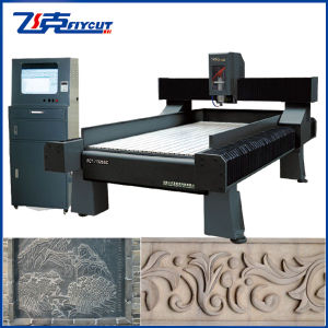 CNC Stone Engraver With Auto-Change Tool System and Oil Lubrication System pictures & photos