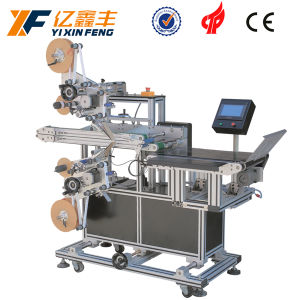 Flat Object Two Sides Automatic Labeling Machine
