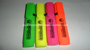 High Qualityn Flat Colorful Highlighter Marker pictures & photos