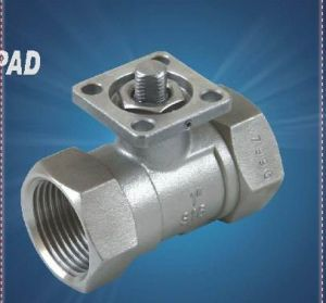 Precision Casting Stainless Steel 1PC Reduce Bore Screwed Ball Valve pictures & photos