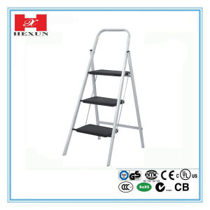 Various Steps Steel Ladder with Working Bench