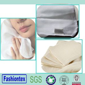 China Face Cloth Remove Makeup Exfoliating Square Facial Cleansing