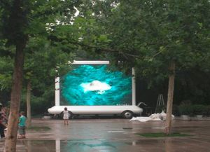 Waterproof LED Sign on Mobile Vehicles pictures & photos