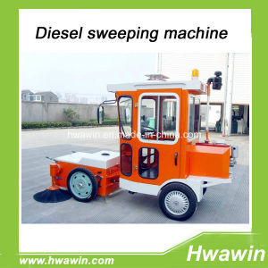 Diesel Engine Road Sweeper Car for City Road pictures & photos