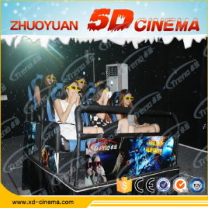 6 Dof Electric/Hydraulic 7D Cinema Equipment 7D Simulator Cinema 8 Seats Simulator 5D Cinema Hall Seats pictures & photos