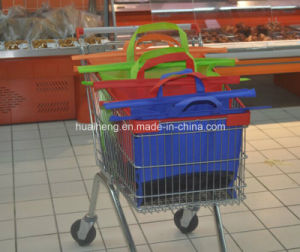 4PCS Supermarket Trolley Bag Supermarket Shopping Cart Bag