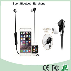 Black Color Wireless Earphone Bluetooth Headset Headphone (BT-128) pictures & photos