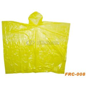Emergency Adult Light Waterproof PE Disposable Rain Poncho with Hood pictures & photos