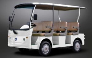 China Best Seller 8 People Shuttle Bus Street Legal on Sale