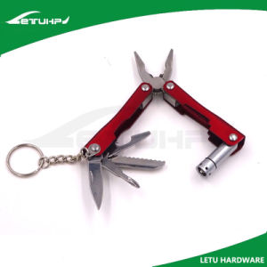 Anodized Multi Purpose Tool with LED Flashlight
