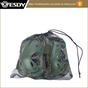 Airsoft Tactical Outdoor Sport Knee & Elbow Pads Camouflage pictures & photos