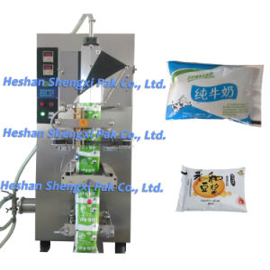 Sachet Liquid Pouch Packing Sealing Filling Machine 1000ml Sxs-1000bf