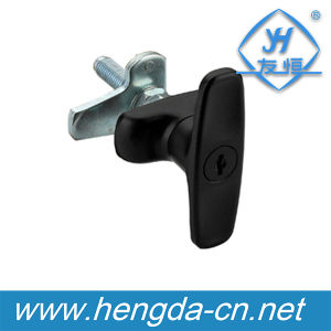 Zinc Allloy Sliding Door Handle Lock (YH9678) pictures & photos