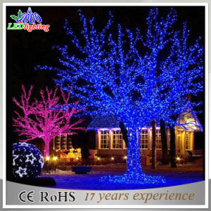 outdoor street decoration metal christmas tree led branch lights