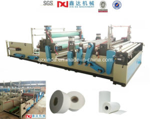 Slitting Maxi Roll Big Toilet Paper Machinery Factory pictures & photos