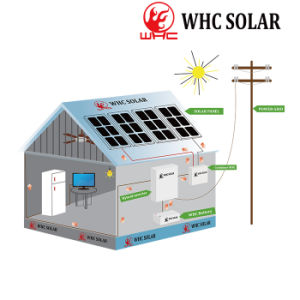 3000w Home Use Easy Install Solar Cell System