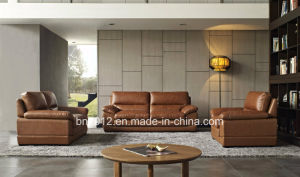 China Modern Living Room Genuine Leather Sofa Suites S1806 - China ...