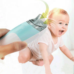 China Electric Washable Infant Auto Vacuum Hair Clipper Less Mess Children Ceramic Head Haircut Trimmer Hairstyle Baby Shaver Razor China Vacuum Baby Hair Clipper And Vacuum Hair Clipper Price
