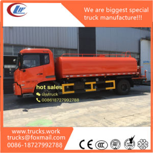 15000liters Carbon Steel Tanker Water Bowser Truck pictures & photos
