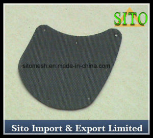 Black Steel Wire Netting Filter with Kidney Shape