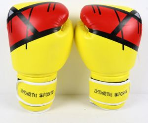 Wholesale and Retail Hot Sale High Quality PU Boxing Gloves