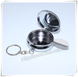 Religious Metal Packing Box, Round Leaf Box, Catholic Box, Rosary Box (IO-p034) pictures & photos
