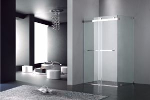 Sliding Shower Door/Shower Screen with Tempered Glass (UPC02)