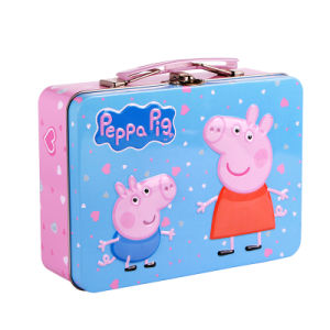 Handle Biscuit and Cookie Tins Cute for Kids pictures & photos
