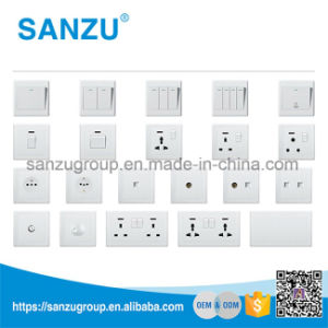 BS Style 1 Gang Dimmer Switch Wall Switch pictures & photos