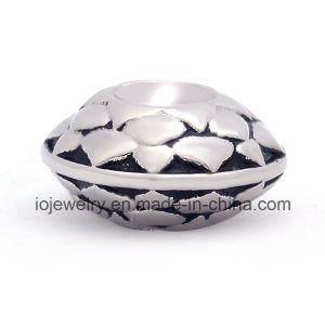Stainless Steel Vintage Pattern Charm Spacer Beads pictures & photos