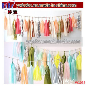 Wedding Centerpieces Paper Garland Business Wholesale Party Supplies (W1033) pictures & photos