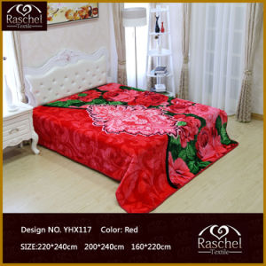 Polyester Blanket with Raschel Super Quality