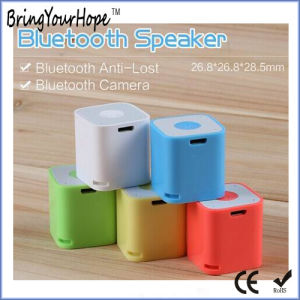 Anti Lost Remote Shutter Cube Smart Bluetooth Speaker (XH-PS-658) pictures & photos