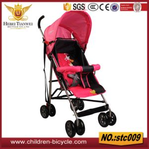 Half Umbrellar with Steel Handlebar Red Kids Products Baby Strollers pictures & photos