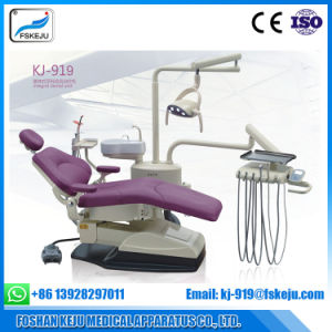 Chinese Luxury Electric Dental Chair with LED Sensor Lamp pictures & photos