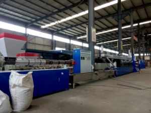 Economic Sandwiched Plastic PP Tape Packaging Extrusion Machine