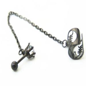 China Industrial Barbells Ear Piercings Cartilage Tragus Helix Ear Stud Earring China Ear Stud Earrings For Girl