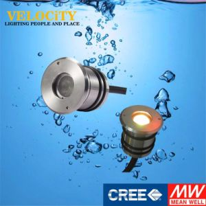 24V 1 PCS Anti-Corrosion Stainless Steel LED IP68 Swimming Pool Underwater Light
